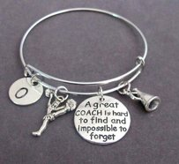 Personalized Coach Bracelet,a Great Coach Is Hard To Find Gift