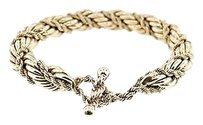 Vintage,Ladies,14k,Yellow,Gold,Fancy,Rope,Bracelet,41.3grams,8,Long,10mm
