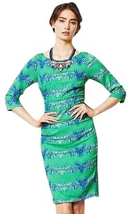 Anthropologie Emerald City Sheath P By Tracy Reese Dress