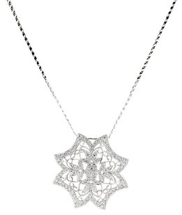 1.33ctw 1.33CTW DIAMOND FLOWER NECKLACE