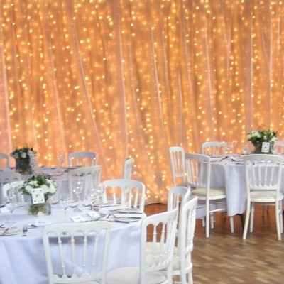20 x 10 white chiffon backdrop wedding event clearance on tradesy