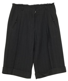 3.1 Phillip Lim Womens Pleated Cuffed Culottes Wpockets Dress Shorts Black