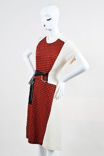 3.1 Phillip Lim short dress Multi-Color Red Cream Black on Tradesy
