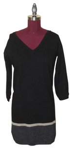 360 Sweater short dress Black on Tradesy