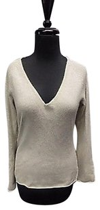 360 Sweater 360 Cashmere Cashmere Casual Fitted V Neck 152a Sweater