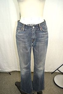 7 For All Mankind Wash Boot Cut Jeans