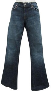 7 For All Mankind 27 Blue Wash Distressed 70213ap Flare Leg Jeans