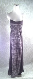 Gray Maxi Dress by 7 For All Mankind Cotton Maxi