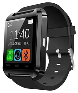 A8 POWER A8 POWER U8 Bluetooth Watch Smart Wristwatch Phone Mate for Smartphones Android Samsung S2/s3/s4/s5/note 2/note 3 HTC (Black)