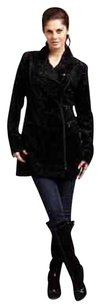 A.B.S. by Allen Schwartz Faux Fur Moto Blacks Jacket