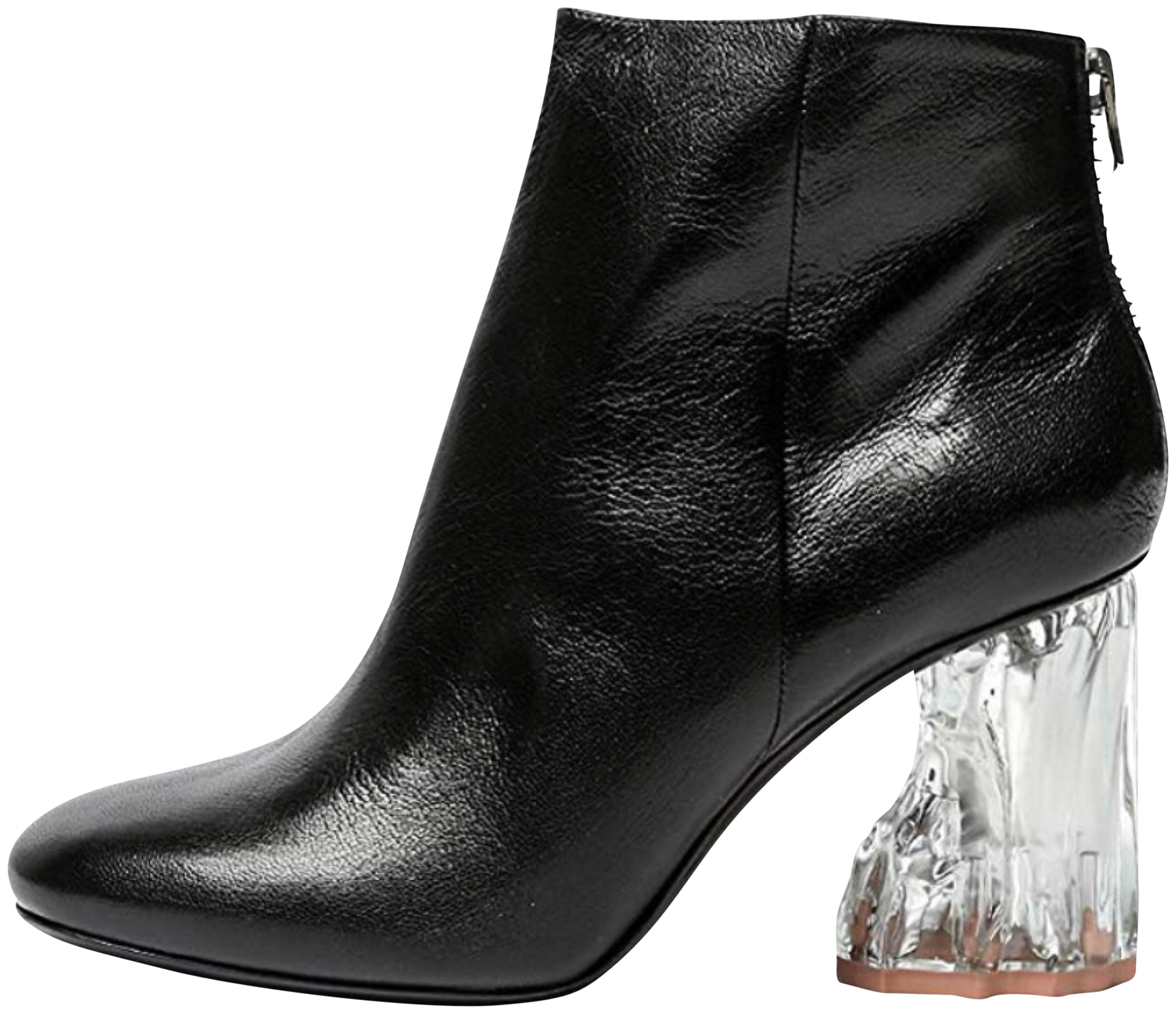 Acne Studios Ora with Clear Heels Boots/Booties Size EU 38 (Approx. US 8) Regular (M, B)
