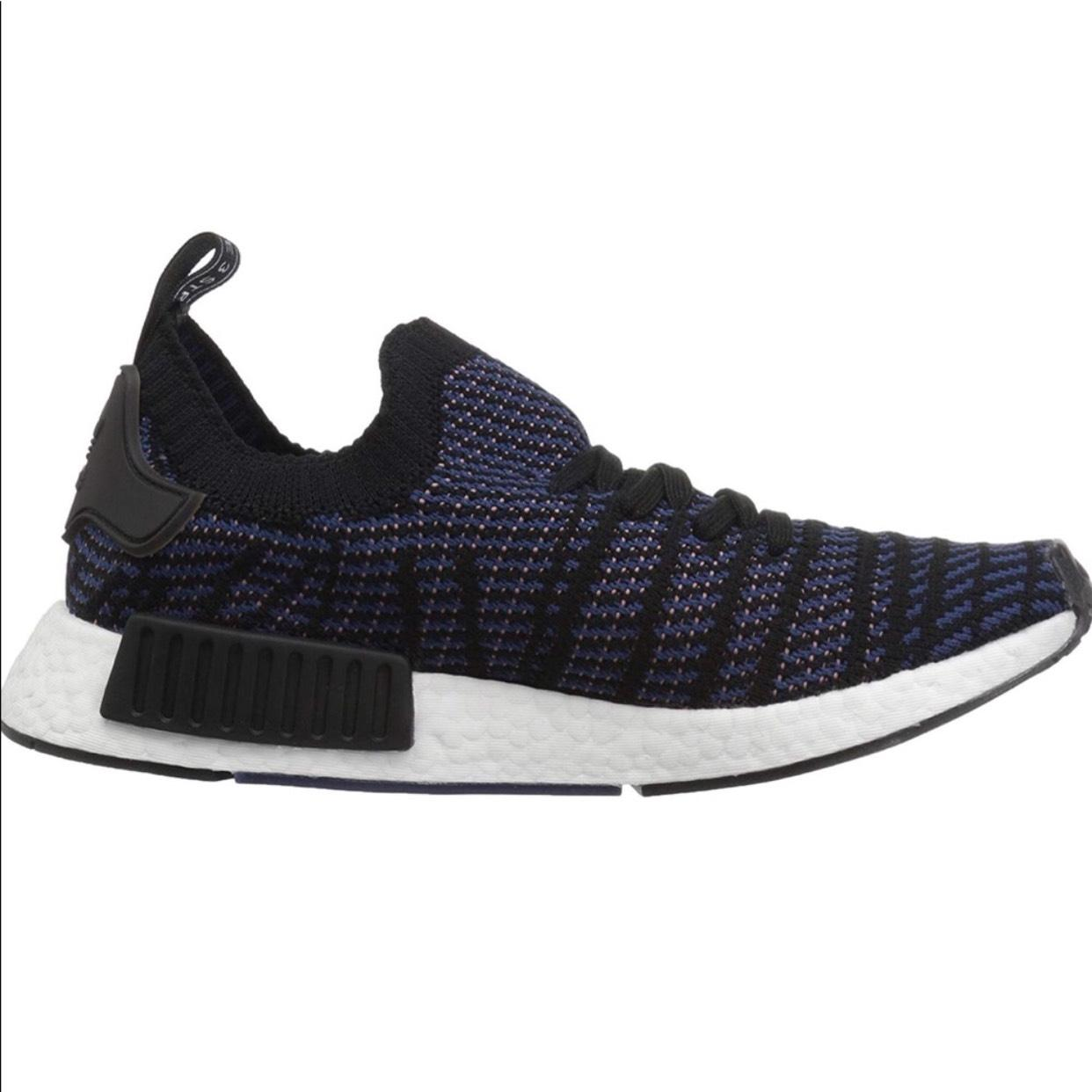 adidas Blue Blue Blue & Pink Nmd_r1 Sneakers Size US 6