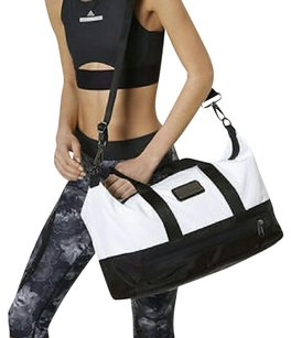 adidas By Stella McCartney Gym Tote in White and Black