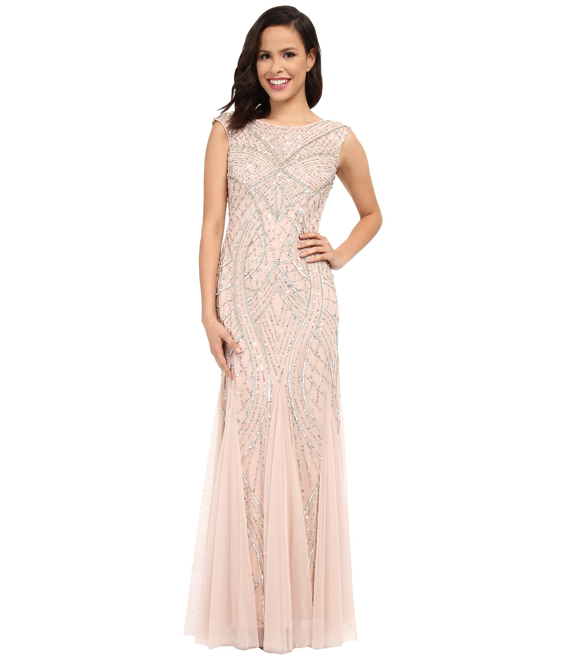 Adrianna Papell Neutral Prom Dresses – Dresses for Woman