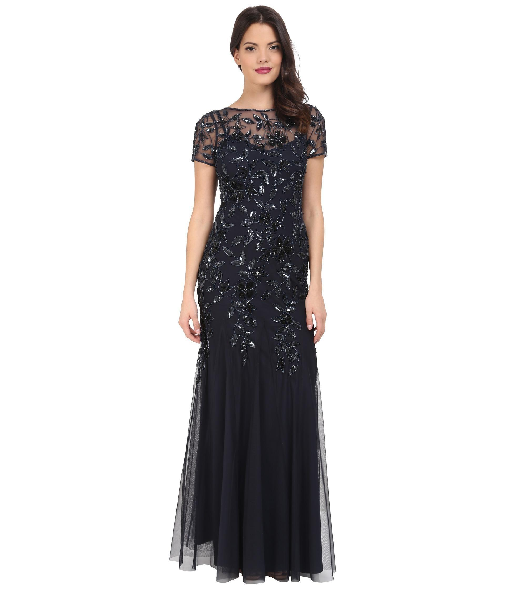 Adrianna Papell Long Gowns