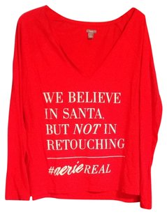 Aerie T Shirt Red