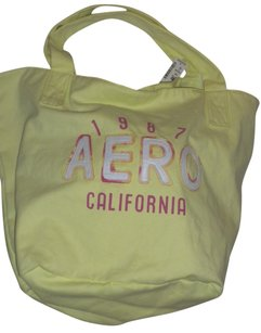 Aropostale Aero Bright Beach Tote in Yellow