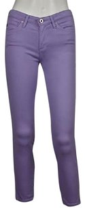 AG Adriano Goldschmied Womens Cropped Cotton Capri Pants Capri/Cropped Denim