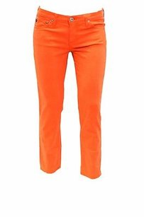 AG Adriano Goldschmied The Stilt Skinny Crop Jeans 170038tag Capri/Cropped Pants Orange