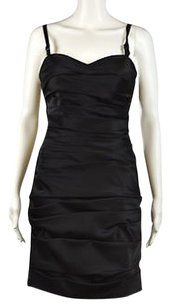Aidan Mattox Womens Metallic Above Knee Sleeveless Sheath Dress