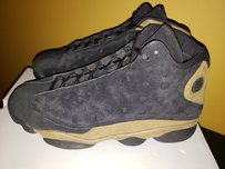 Air Jordan Black and Olive Athletic