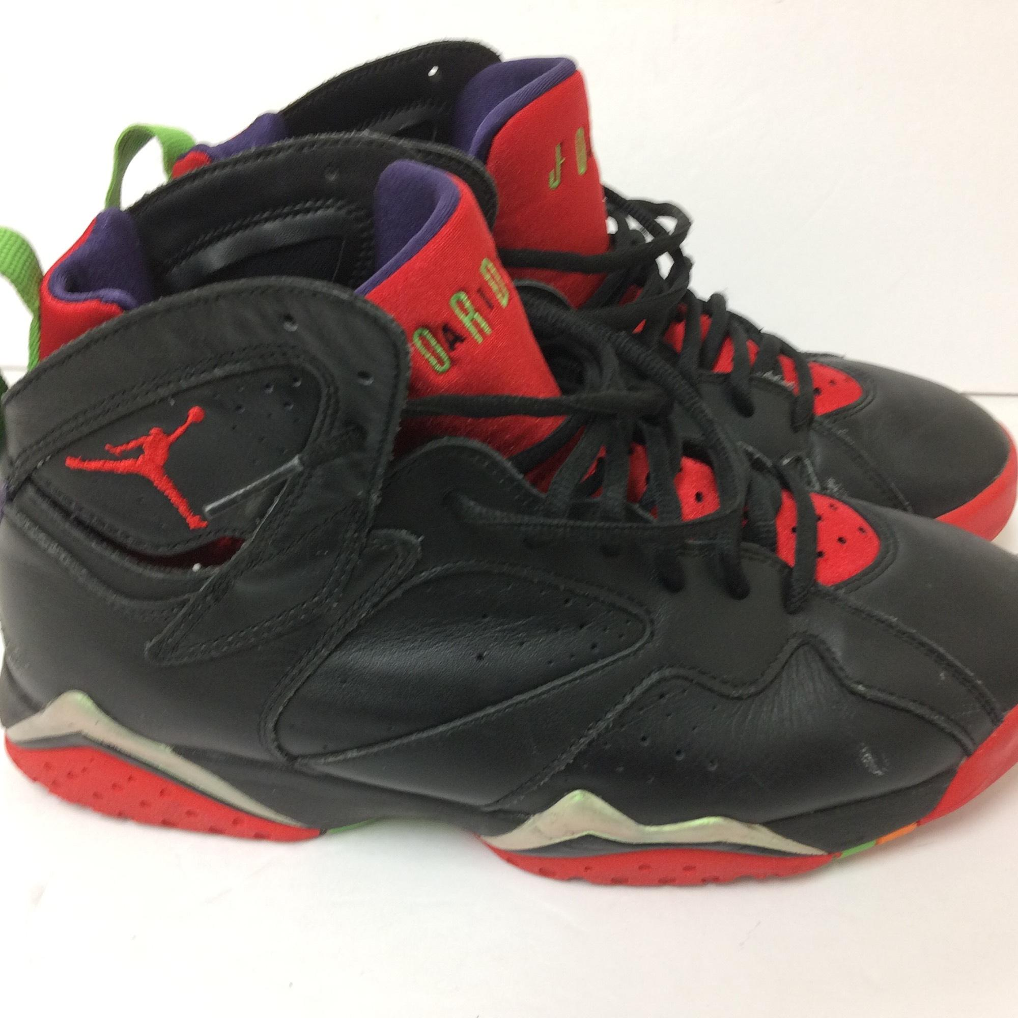 65673628487a49 ... statue white black militia green cheap sale e68eb 6916c  discount code  for air jordan retro 7 mens size 9 marvin the martian red black purple