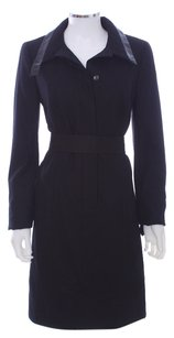 Akris Punto V-neck Wool Switzerland Designer Classic Dress