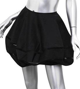 ALAA Alaia Black Blend Structured Bubble Skirt
