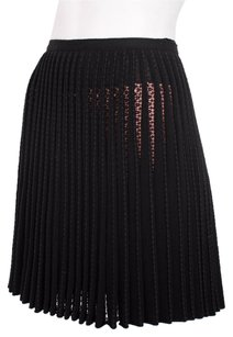 ALAÏA Alaia Pink Wool Cotton Skirt Black