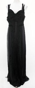 Black Maxi Dress by Alberta Ferretti V0442