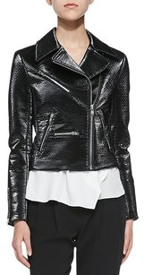 A.L.C. Alc Motorcycle Cropped Moto Bomber Motorcycle Jacket