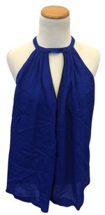 A.L.C. Blue Halter Top