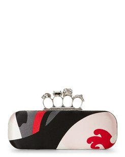 Alexander McQueen Multi Color Clutch