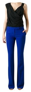 Alexander McQueen Made In Italy Nwot Flare Trouser Pants Blue