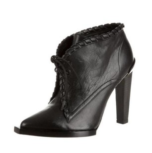 Alexander Wang Sofi Leather Ankle Box Black Boots