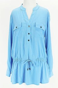 Alfani Good Womens Top blue