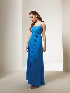 Alfred Angelo Marine Blue Style Number 7076 Dress