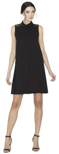 Alice + Olivia short dress Black Lace Sleeveless Shift Insert on Tradesy