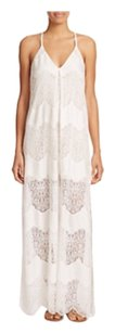 White Maxi Dress by Alice + Olivia
