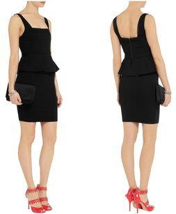 Alice + Olivia Peplum Jersey Flirty Dress