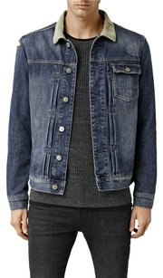 AllSaints Denim Wool Cotton Jean Jacket