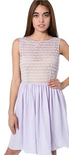 American Apparel short dress Lilac on Tradesy