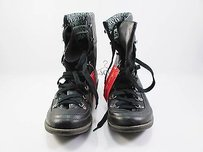 American Rag Kelsey Lace Up Womens Black Boots