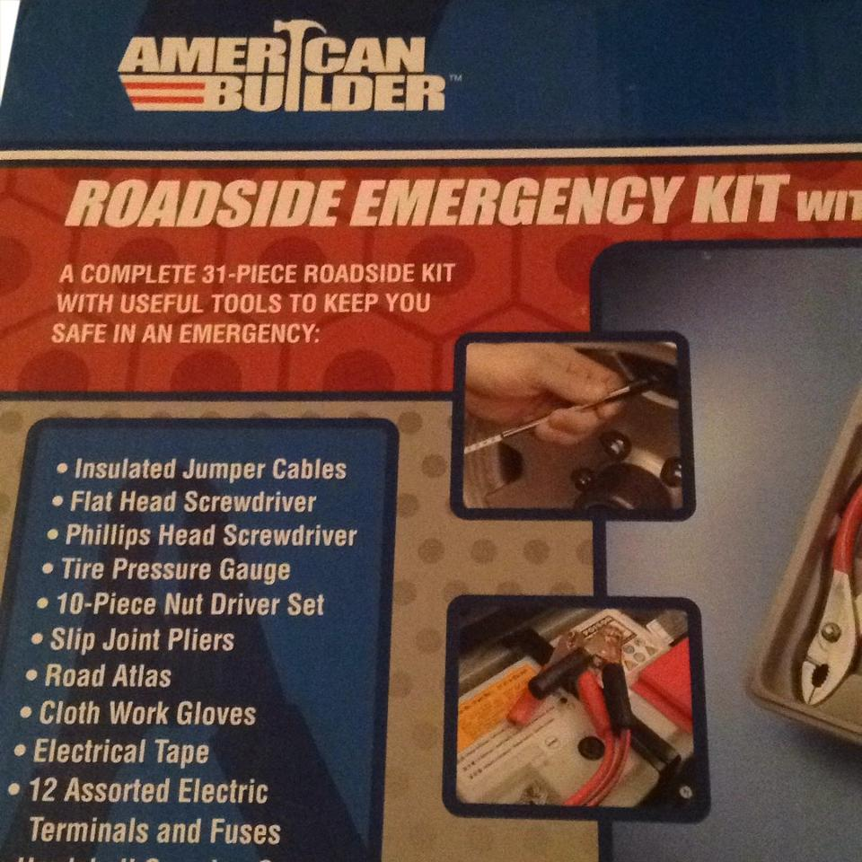 Anerican Builder Roadside Emergency Kit