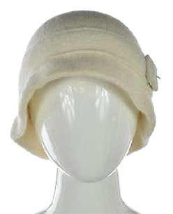 Ann Taylor Ann Taylor Womens Ivory Bucket Hat One Casual Wool