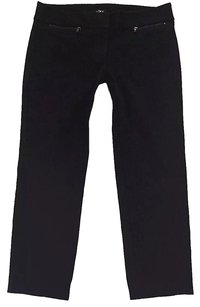 Ann Taylor Capri/Cropped Pants Black