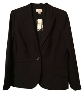Ann Taylor LOFT 16 Petite Navy Blue - almost Black Blazer