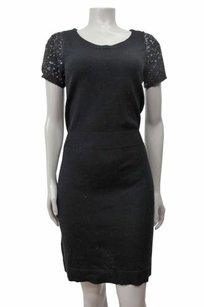 Ann Taylor LOFT short dress Black Sequin on Tradesy