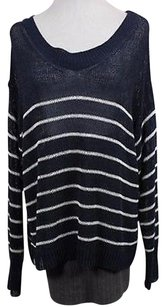 Ann Taylor Womens Navy Sweater