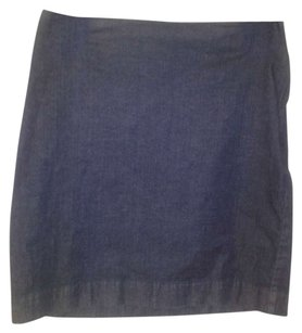 Ann Taylor Skirt Dark denim